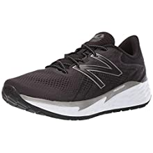 New Balance Men's Fresh Foam Evare Road Running Shoe, Black (Black/Silver/White), 12.5 UK 47.5 EU