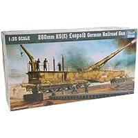 Trumpeter 00207 Kit Modelo Railgun Leopold 280mm K5 (E)