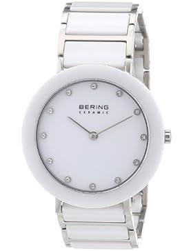 BERING Time Damen-Armbanduhr Slim Ceramic Analog Quarz 11435-754