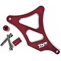 TNTTU - Copri pignone in alluminio, adattatore AM6, Rosso anodizzato
