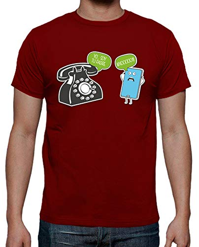 latostadora - Camiseta Yo Soy Tu Padre para Hombre Rojo XL