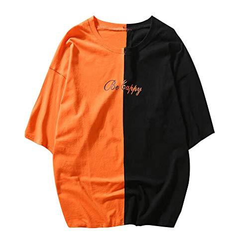 Preisvergleich Produktbild Yanhoo T-Shirt Yahoo Unisex Casual Teens gedruckt lächelndes Gesicht Mode Print Top Bluse