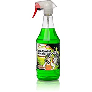 TUGA Chemie Felgenreiniger Alu-Teufel Spezial, Sprühflasche, 1000 ml