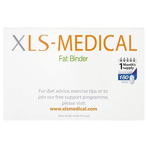 412 2Vp4QgL. SS500  - XLS Medical Fat Binder Tablets Weight Loss Aid, 180 Tablets