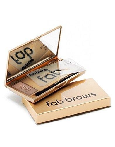 FAB BROWS-POUDRE SOURCILS Gris AVEC POCHOIRS