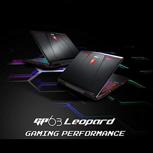 PC Portable Gamer - MSI GP63 Leopard 8RE-095FR - 15,6' FHD 120Hz - i5-8300H - RAM 8Go - 1To HDD + 128Go SSD - GTX 1060 6Go - Win 10