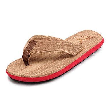Slippers & amp da uomo;Estate Comfort Nylon Outdoor casual Tallone piano Blu Verde Rosso Bianco Walki sandali US8.5-9 / EU41 / UK7.5-8 / CN42