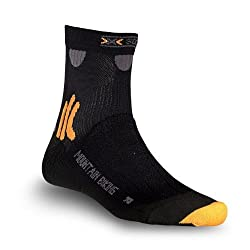 X-Socks Funktionssocken Mountain Biking Socken, Black, 35/38