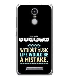 FUSON Designer Back Case Cover for Xiaomi Redmi Note 3 :: Xiaomi Redmi Note 3 Pro :: Xiaomi Redmi Note 3 MediaTek (Illustration Inspiration Change Motivate )