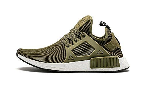 Uomo scarpa sportiva, colore Verde , marca ADIDAS ORIGINALS, modello Uomo Scarpa Sportiva ADIDAS ORIGINALS NMD_XR1 PK Verde olicar, cblack, vinwht