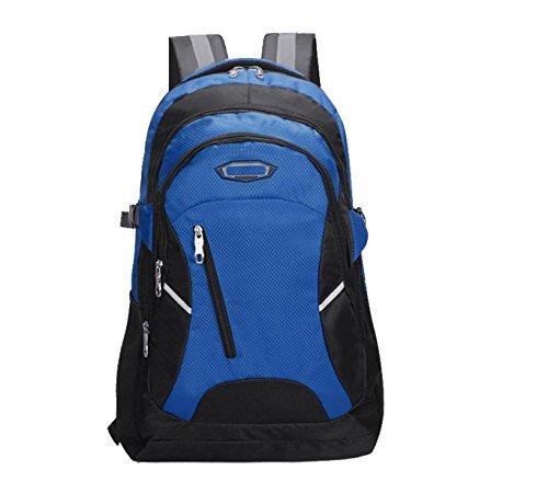 Yy.f40L All'aperto Escursioni Campeggi Impermeabile In Nylon Da Viaggio Borsa Da Viaggio Borsa Zaino (3 Colori) Blue
