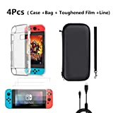 XiuFen Accessories Protection Bag + Crystal Shell + Toughened Film + Charging Line Set