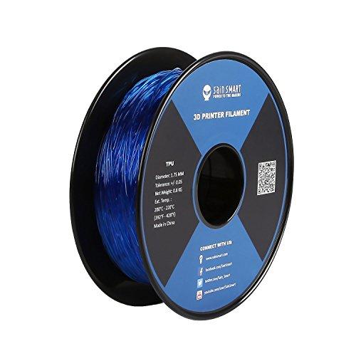 SainSmart TPU 3D-Drucker Filament, 1,75 mm, 0,8 kg, Blau