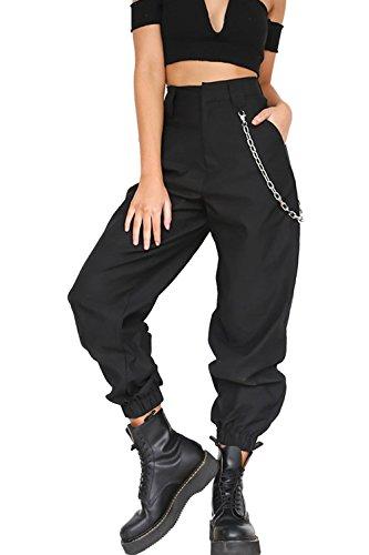 La Mujer Harén Pantalones Casual Solida Suelto Pantalones