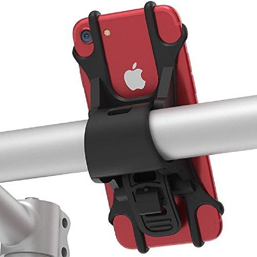 Somercliffe & Sons | Smartphone Halterung Fahrrad | Fahrrad Handy-Halterung | iPhone X, 8, 7, 6, Samsung Galaxy S8, S7 (schwarz)