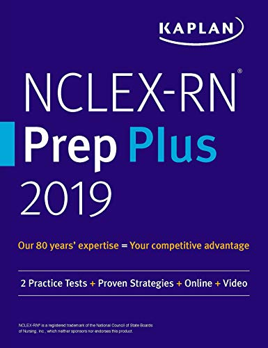 Nclex-rn Prep Plus 2019: 2 Practice Tests + Proven Strategies + Online + Video (kaplan Test Prep) por Kaplan Nursing epub
