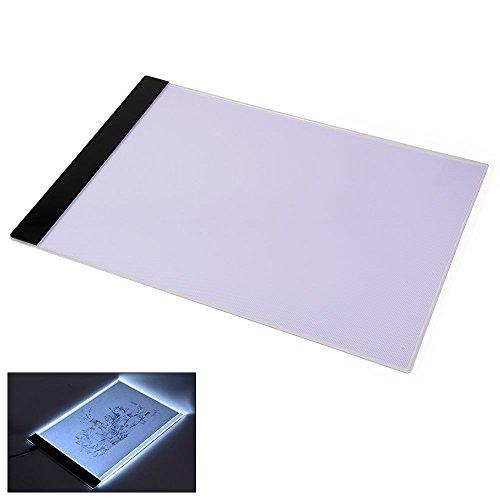 jojoo A4Tracing Light Board LED Leggero Artcraft Tracing Pad per artisti, disegno, schizzi, animazioni, alimentazione USB LT043