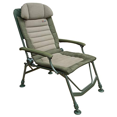Fox FX Super Deluxe Recliner Chair Stuhl Angelstuhl #CBC047