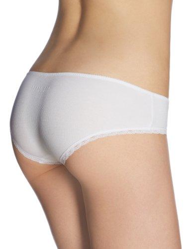 Schiesser Damen Slip Brazilian Pants Weiß (100-weiss)