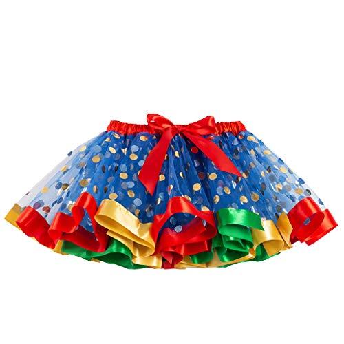 Kostüm Muster Ballett Für Dance - Clacce Mädchen Kinder Tutu Party Dance Ballett Kleinkind Baby Kostüm Rock + Stirnband Set