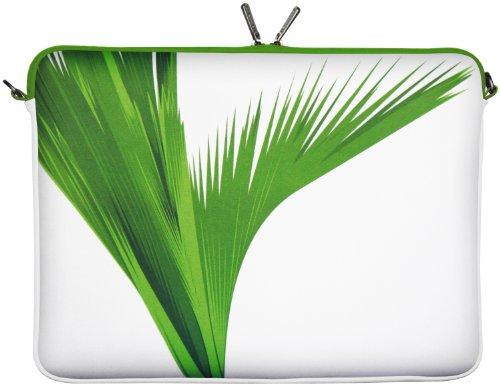 Digittrade LS138-10 Green Designer Schutzhülle für Laptops und Tablets mit einer Bildschirmdiagonale von 25,9 cm (10,2 Zoll) grün-weiß (2 Falle Süße Tab Samsung Galaxy)