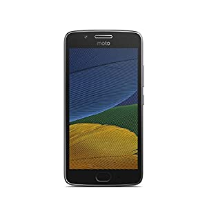 Motorola Moto G5 16GB with 2 GB RAM (Single Sim) UK SIM-Free Smartphone - Lunar Grey