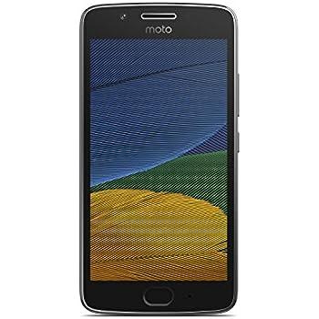 Motorola Moto G5 16GB with 2 GB RAM (Single Sim) UK SIM-Free Smartphone - Lunar Grey