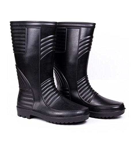 Hillson Welsafe Safety Gumboot, Black, Size 9