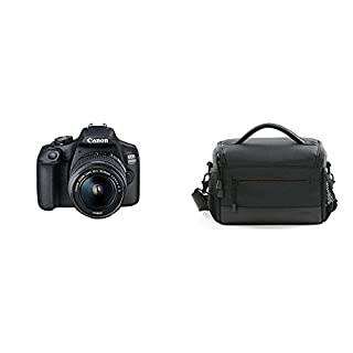 Canon EOS 2000D DSLR Camera and EF-S 18-55 mm f/3.5-5.6 IS II Lens, Black with Camera Bag (B07FK37XN5) | Amazon price tracker / tracking, Amazon price history charts, Amazon price watches, Amazon price drop alerts
