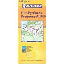 Michelin Hautes-Pyrenees, Pyrenees-Atlantiques: Includes Plans for Pau, Biarritz/Anglet/Bayonne, Tarbes, Lourdes, San Sebastian, Pamplona (Michelin Maps) (French Edition) by Michelin Travel Publications (2002-05-02)