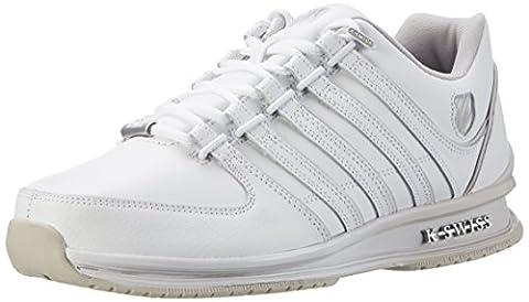 K-Swiss Herren Rinzler SP Fade Sneakers, Weiß(White/Windchime/Silver), 45