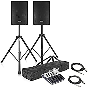 Subzero 700w 12 Active Pa System With Stands And Mixer Amazon Co