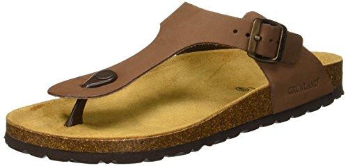 Grunland sara, scarpe da spiaggia e piscina donna, marrone (marrone), 41 eu