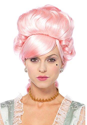 Marie Rosa Kostüme Antoinette (Leg Avenue A2776 - Pastell Marie Antoinette Perücke, Damen Karneval Kostüm Fasching, Einheitsgröße,)