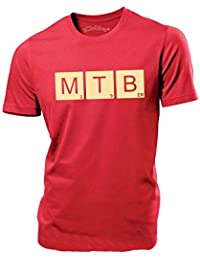 iClobber MTB Mountain Bike 29er Scrabble letters mens T Shirt