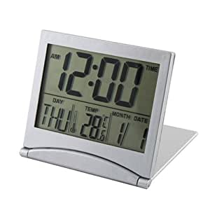 Desk Digital LCD Thermometer Calendar Alarm Clock By BuyinCoins
