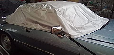 Jaguar XJS Cabriolet and Convertible Frost Free Winter Windows & Heat/UV Summer Protection Cab/Top Cover.