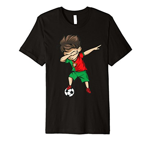 Sanftes Soccer Boy Portugal Jersey Shirt Fußball Portugal