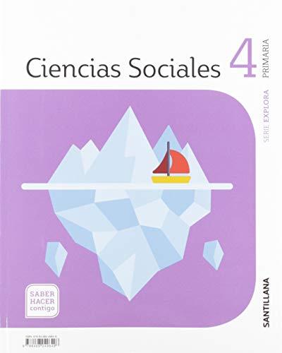 CIENCIAS SOCIALES CANTABRIA 4 PRIMARIA SABER HACER CONTIGO SANTILLANA