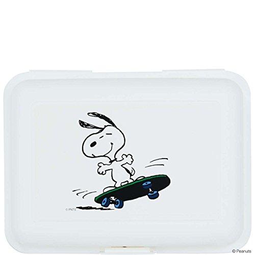 BUTLERS PEANUTS Brotdose Snoopy Skateboarder- Aufbewahrungsdose - Polypropylen - 17,5 x 12,8 x 6,9 cm Peanuts Snoopy Vintage