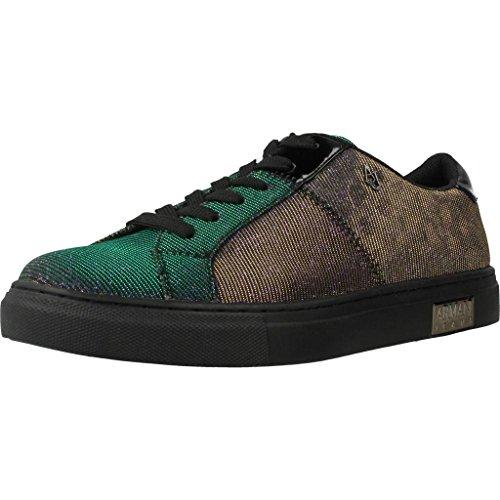 Armani Jeans Woman Sneaker 9252397A659-00243 Damen Sneaker (39, Multicolor)