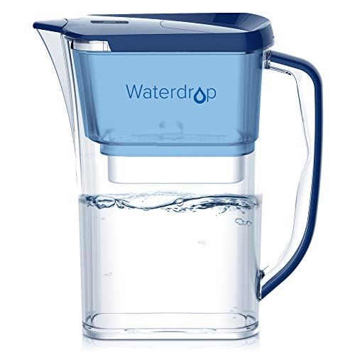 WaterDrop Long-Lasting (757 litres), 8-Tasses Carafe...