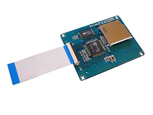 256 Mb Compactflash-speicher (Kalea Informatique Konverter / Adapter, mit Bootfähigkeit, Speicher-Karten SD/SDHC auf 1,8-Zoll-ZIF (40-polig)–Chipsatz KFC1306T–mit 2ZIF-Flachbandkabeln)