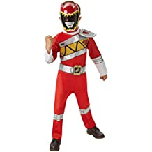 Saban - Disfraz Power Rangers, talla M, color rojo (I-620065M)