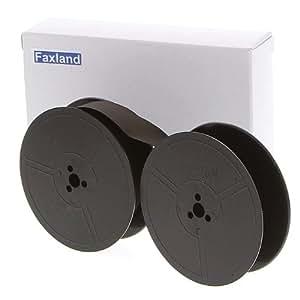 Farbband - schwarz- für DIN Doppelspule, kompatibel Marke Faxland