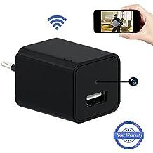 1080P HD Wifi Ocultos Cámara USB Wall Charger Cámara Espía LXMIMI Teléfono Adaptador Inalámbrico Cámara Nanny Cam Cámara de Vigilancia y Seguridad