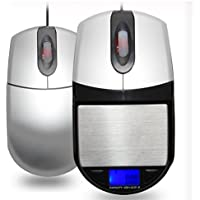 500 G/0,01 G Mini ratón inalámbrico portátil estilo electrónico Digital, Amir báscula, 500 g/0.01g, báscula de cocina, de precisión balanza de precision ...
