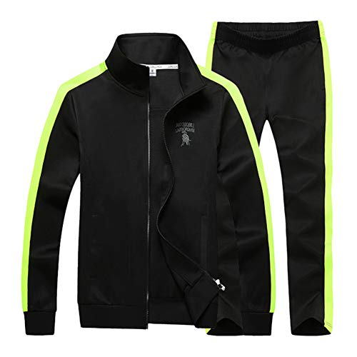et Männer Kleidung 2019 Mode Fett Plus Größe 9XL Sportwear Männer Hoodie Jacke Und Hose 2 Stück Sets Trainingsanzug,a,7XL ()