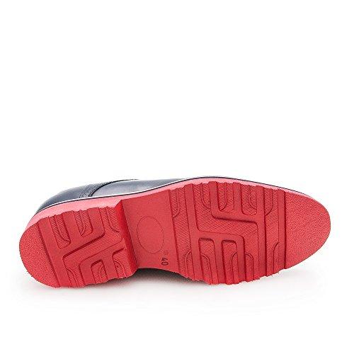 Zeraltos. Chaussures réhaussantes intérieur pour messieurs. Augmentation + 7cm. Florantic cuir, respirant, confortable. Black