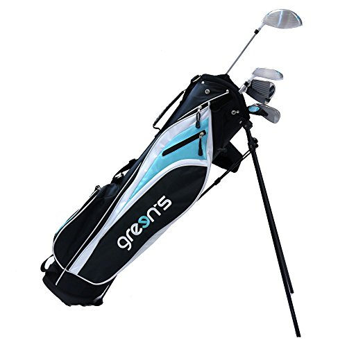 Green's GRE-K1/2SG NBLG Kit débutant de Golf Mixte Adulte, Noir/Bleu